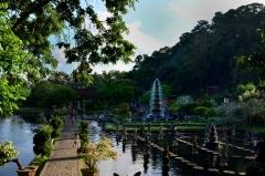 Vodný palác Tirtagangga, Bali