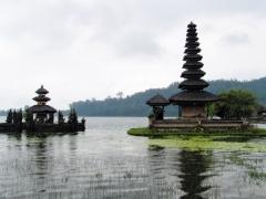 Chrámy na jazere Bratan, Bali