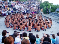 Tradičný balijský tanec Kecak
