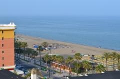 Pláž Bajondillo, Torremolinos, Andalúzia