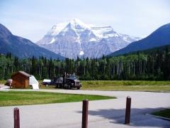 Mount Robson, najvyšší vrch Kanady