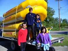 Outdoor dovolenka, rafting v Kanade