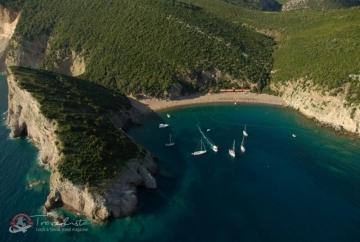 Romantická Kráľovnina pláž v Čiernej Hore