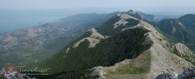 Pohorie Rumija, Čierna Hora