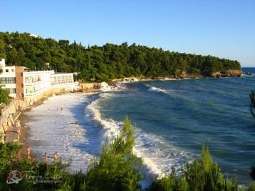 Pláž Zlatna Obala, dovolenka Čierna Hora