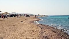 Jordánsko, pláž na juhu Aqaby