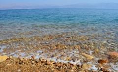 Pohľad na Mŕtve more