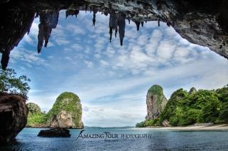 Dovolenka Krabi, Phra Nang Beach