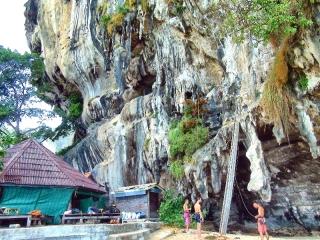 Lezenie na Tonsai, Krabi