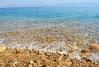Pobrežie severného jazera Mŕtveho mora