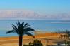 Panoráma pobrežia pri Mŕtvom mori