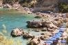 Pláž Anthony Quinn, Rhodos