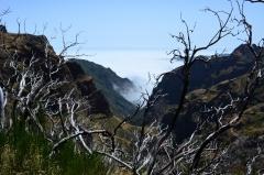 Inverzia na Pico Ruivo