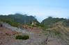 Chata pod vrcholom Pico Ruivo