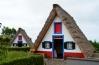 Tradičné domčeky v dedinka Santana, Madeira