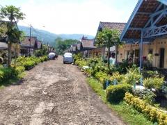 Dedinka zberačov kávy, Jáva, Indonézia