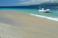 Relax na ostrove Gilli Meno, Indonézia