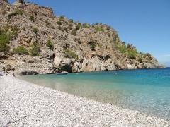Nádherné pláž Achata, dovolenka na Karpathose