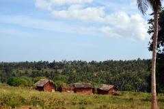 Typické keňské dedinky