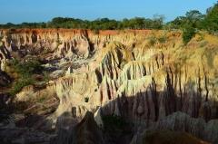 Krásny výlet do rokliny Marafa počas dovolenky v Keni