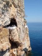 Cala en Porter, jaskyňa Cova Xoroi