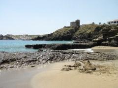 Divoké panenské pláže Menorky, Cala Mesquida