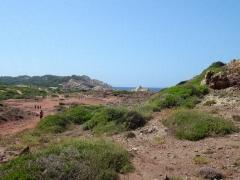 Cesty k plážam severu Menorky