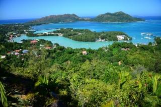 Výhľad na ostrov Praslin