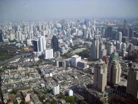 Dovolenka Thajsko výhľad z Baiyoke Sky Hotel