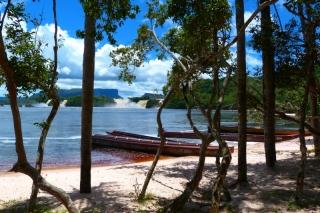 Pláž v Canaime na poznávacom zájazde po Venezuele