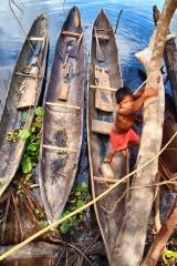 Delta Orinoca, miestne plavidlá