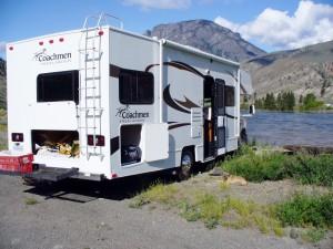 Dovolenka Kanada, outdoor, rybolov karavanom