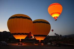 Dovolenka Kappadokia, let balónom